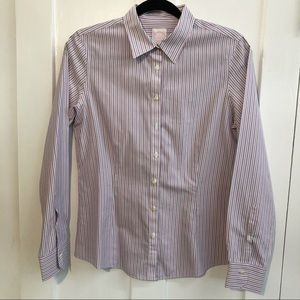 Brooks Brothers 346 striped tailored fit shirt